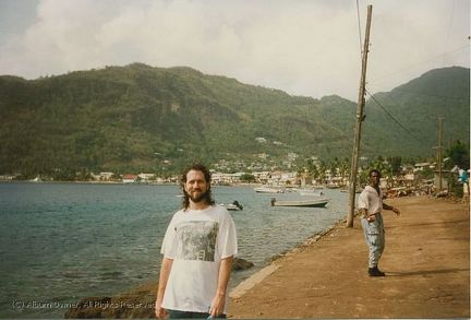 Soufriere wharf