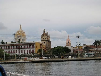 Cartagena from the port