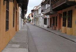 Cartagena on a lazy day
