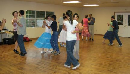 Grayson County set dance workshop 04 cropped