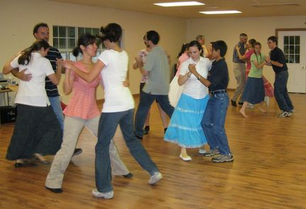Grayson County set dance workshop 02 cropped