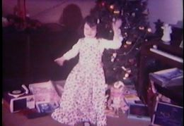 Susan at Christmas 1971