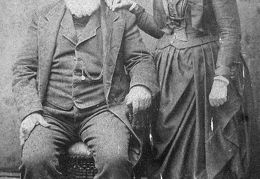 1-Dr. Levi G Brantley and wife or daughter - front (2)