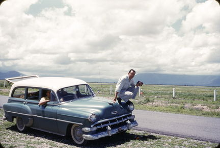 Jack and Jesse Hagemeyer in Mexico 1955