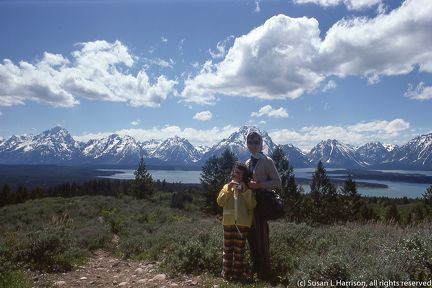 1975 Grand Tetons - ML and Susan