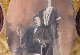 James Orland Hasty and Janie Clark wedding photo (3)