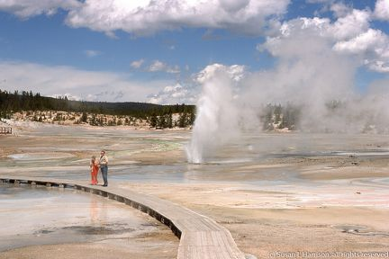 1975 Yellowstone sulphur boardwalk