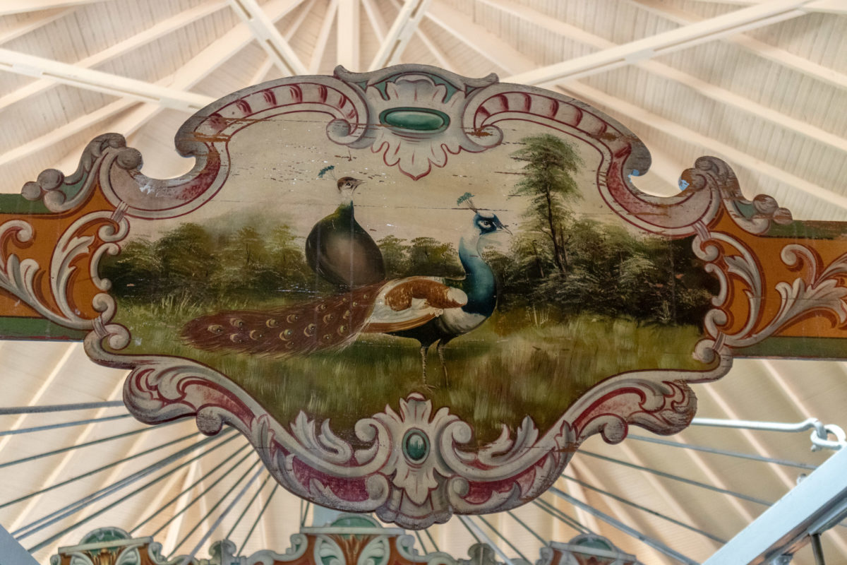 Ride the Dentzel Carousel in Meridian MS