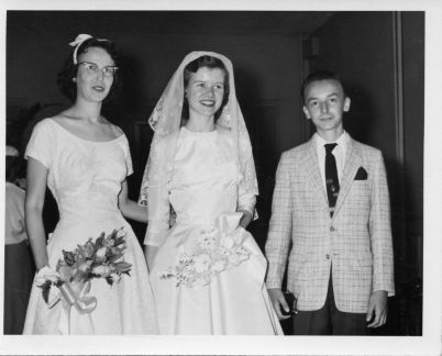 Nita, Mary Louise, Jesse April 20 1957
